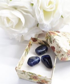 clearing negative energy from crystals. Sodalite Stone Pebble - Sodalite Crystal Gemstone