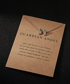 Guardian Angel Charm for spiritual healing, wisdom and prosperity.