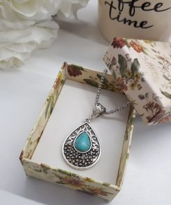 Sleeping Beauty Turquoise – Turquoise Jewelry pendant. turquoise stone meaning chakra - turquoise stone meaning wicca