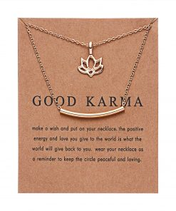 Good Karma Charm for spiritual healing, wisdom and prosperity.