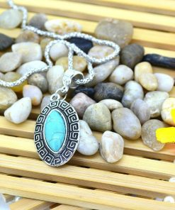 EMF protection pendant, emf protection pendants. Genuine Turquoise Necklace – Genuine Turquoise pendant