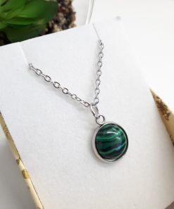 Best Crystal for house protection - Best Crystal for house protection. Malachite pendant necklace - Malachite Dainty necklace crystal jewelry